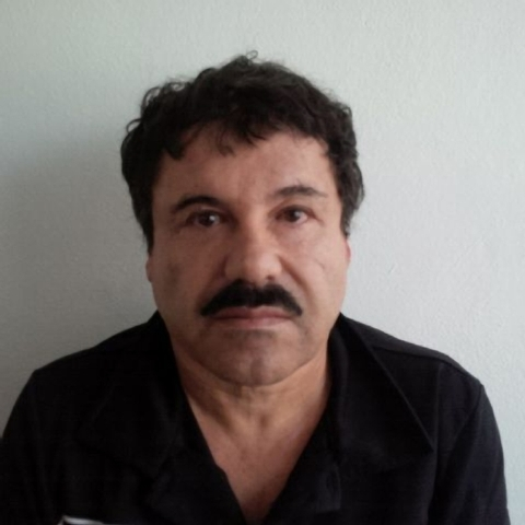 "In this image released by Mexico's Attorney General's Office, Joaquin ""El Chapo"" Guzman is shown after his arrest in the Pacific resort city of Mazatlan, Mexico. An operation through the western M ..."