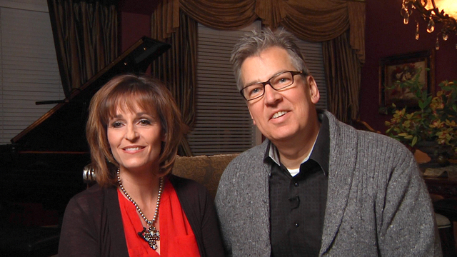 At their Las Vegas home, George and Anita Alexander tell how they met in 1986 after George lost his cat at the property that Anita co-managed in San Antonio. (Michael Quine/View)