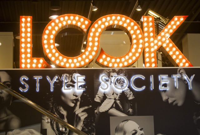 Look Style Society, 6539 Las Vegas Boulevard South,  in Town Square as seen Friday, Feb. 14, 2014.  The beauty venue is scheduled to open on Feb. 21. The salon will offer hair service, a blow dry  ...