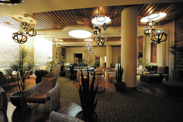 The Conservatory is seen at the Canyon Ranch Spa in the Palazzo hotel-casino in Las Vegas, Thursday, Feb. 7, 2014. (Jerry Henkel/Las Vegas Review-Journal)