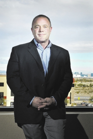 Gordon Miles, president and chief operating officer of Prudential Americana Group Realtors in Nevada and Arizona, is shown in the company offices at 3185 St. Rose Parkway in Henderson on Friday, J ...