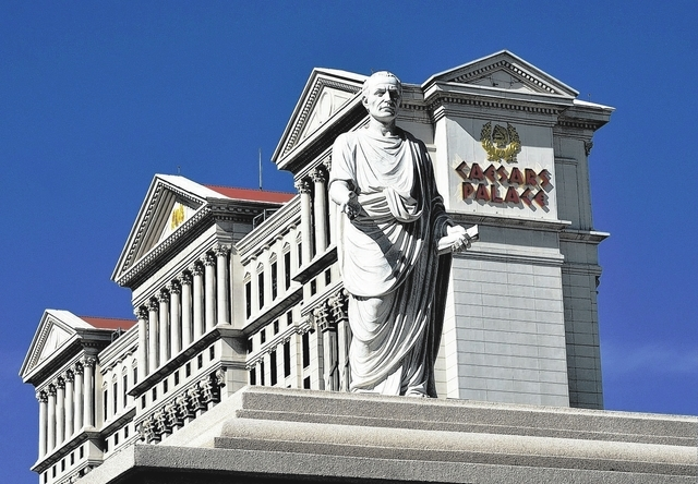 A unit of Caesars Entertainment Corp. has hired an investment bank to restructure a portion of the company's gaming long-term debt. (Bill Hughes/Las Vegas Review-Journal file photo)