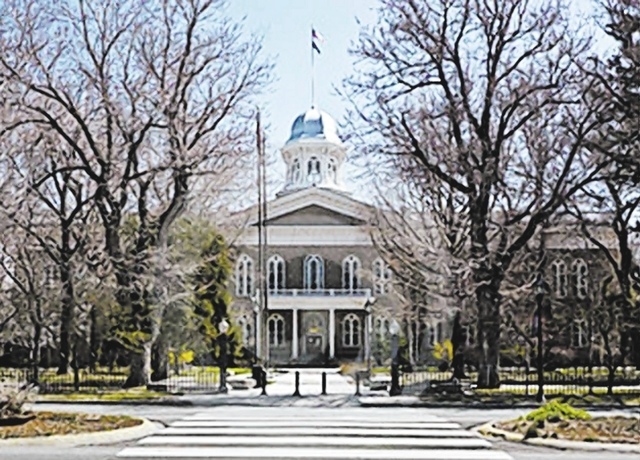 Designed by San Franciscan Joseph Gosling, the Capitol was built by Carson City-based Peter Cavanaugh & Son. Construction lasted from April 21, 1870, until May 1, 1871. (Las Vegas Review-Journal file)