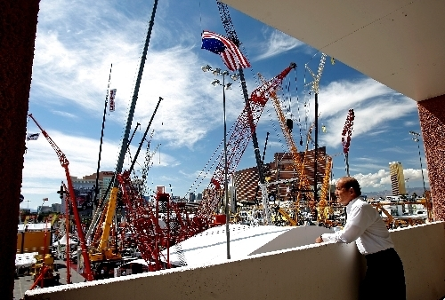 The rotating shows include the CONEXPO-CON/AGG construction show returns to Las Vegas this year. (File, Las Vegas Review-Journal)