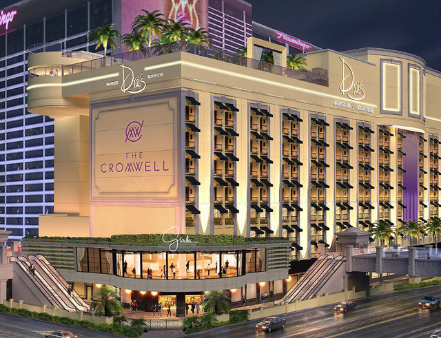Caesars Entertainment Corp. announced Friday the new name of The Cromwell for its property being remodeled on the Las Vegas Strip at Flamingo Road. It was formerly Bill's Gamblin' Hall and the Bar ...