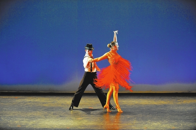 """""""Simply Ballroom"""" visits the Clark County Library on Sunday afternoon. (Courtesy)"""