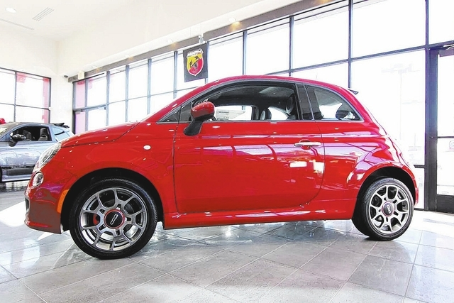 Courtesy photo  The new Fiat 500 is featured at Towbin Fiat of Las Vegas, 2550 S. Jones Blvd.