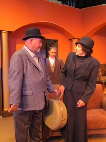 """Agatha Christie's whodunit """"And Then There Were None"""" opens this weekend at Las Vegas Little Theatre. (Courtesy)"""
