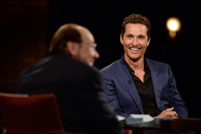 "Matthew McCounaghey appears in the latest episode of Bravo's ""Inside the Actors Studio."" (Tony Behar/Bravo)"