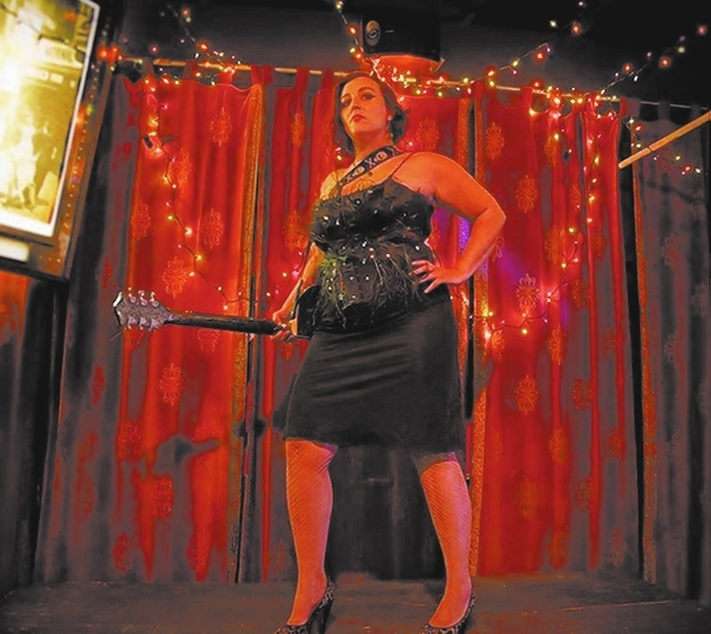 COURTESY Voodoobilly jazz crooner Izzy Cox plays a free show Friday night at the Double Down.