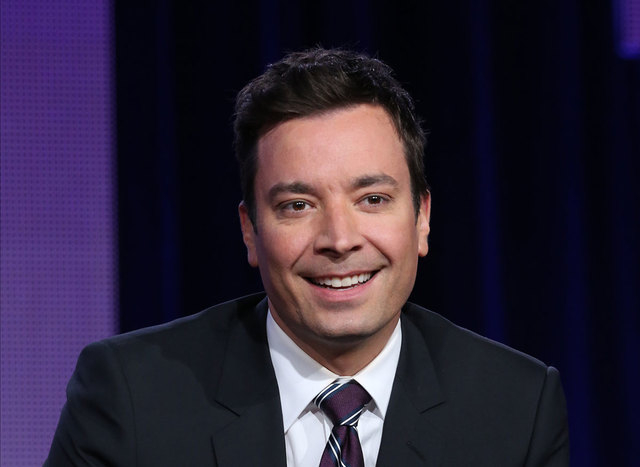 """This photo released by NBC shows Jimmy Fallon who will be the new host of """"Tonight Show Starring Jimmy Fallon"""".  Fallons departure from Late Night on Friday, Feb. 7, 2014, after five years in the  ..."""