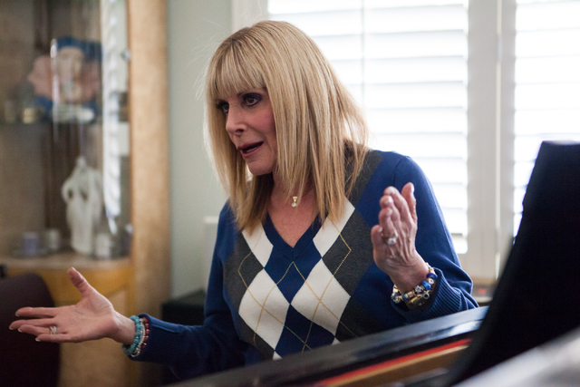 "Linda November speaks during an interview with the Review-Journal at her home in Henderson on Thursday, Jan. 16, 2014. November has sung thousands of commercial jingles, such as the ""Coke and ..."