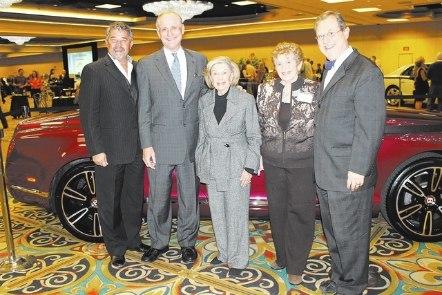 Lisa Spearman/Courtesy Tony Andree-Jansz, from left, Tom Axtell, Charlote Hill, Irene Vogel and Nathan Tannenbaum