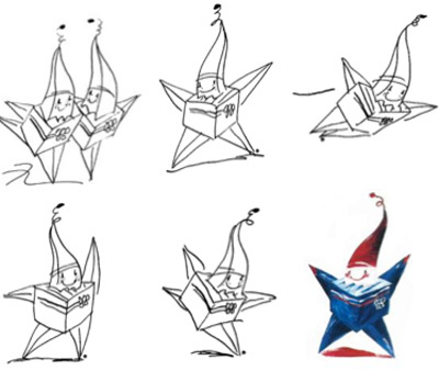A little imp in the shape of a star and a cube, Magique was the 1992 Albertville Olympic mascot and the first mascot that was not an animal since the Innsbruck 1976 Games. (International Olympic C ...