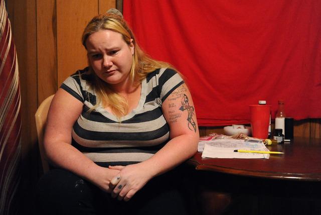Sheena Herschbach reflects back on her turbulent relationship with her former boyfriend Jason Greniger. (Photo by David Becker/Las Vegas Review-Journal file)