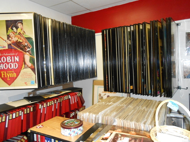 Hundreds of movie posters are shown at Cinema Collectors Movie Memorabilia & Gift Shop, 11 S. Water St., Henderson. The store owner, Buddy Barnett, has collected items since he was 6 years old. (M ...