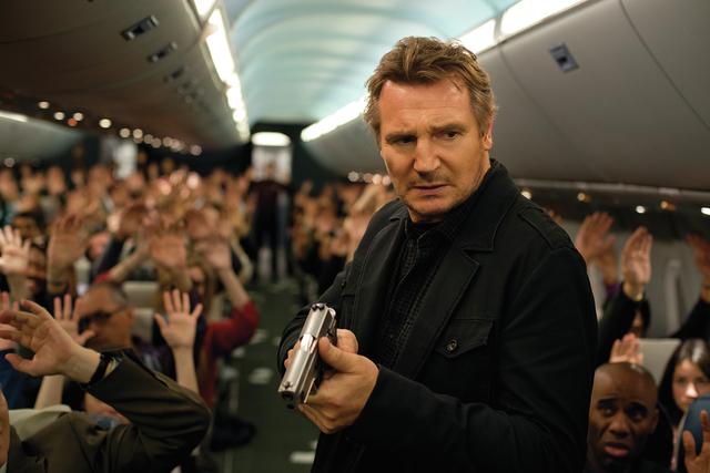 "Liam Neeson stars as U.S. Air Marshal Bill Marks in ""Non-Stop."" (Myles Aronowitz/Universal Studios)"