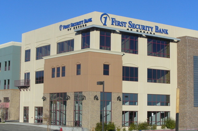 The Hovde Group survey of bank performance last year in eight Rocky Mountain states showed First Security Bank of Nevada in Las Vegas topped the list of locally chartered banks in Nevada with a 33 ...