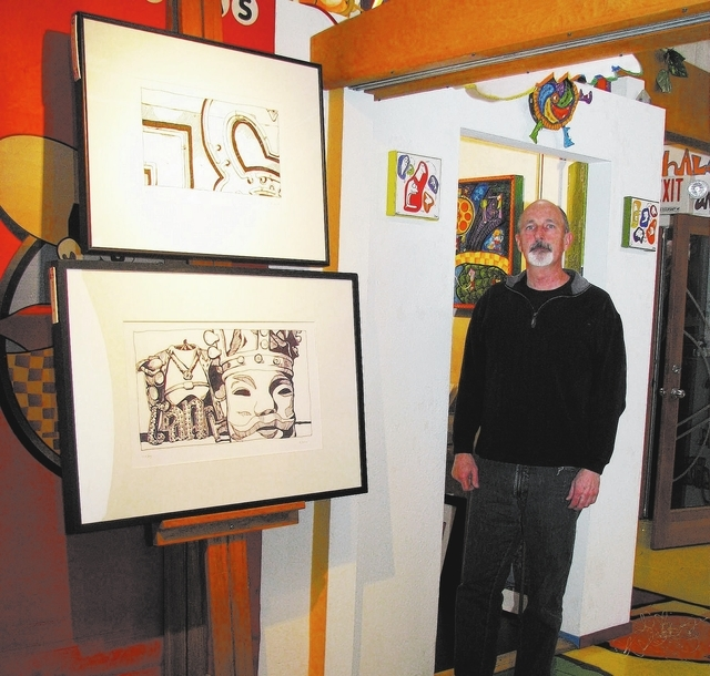 Brian Swanson of Cricket Studio and Face Up Gallery at The Arts Factory plans to celebrate his seventh anniversary at the location this year. (F. Andrew Taylor/View)