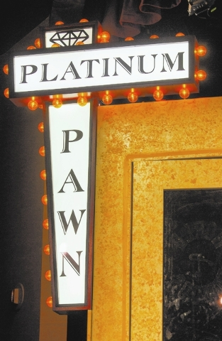 """The set of the """"Pawn Shop Live"""" as seen Friday, Jan. 17, 2014 at the Golden Nugget showroom   The hour-long comedy show spoofs the  popular TV series """"Pawn Stars."""" (Jeff Scheid ..."""