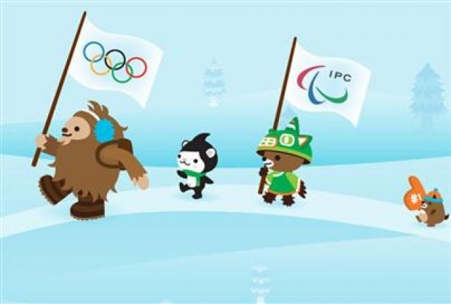 The 2010 Vancouver Olympic mascots were Quatchi, a sasquatch, and Miga, a sea bear, a mythical animal that is part killer whale and part Kermode bear. (International Olympic Committee)