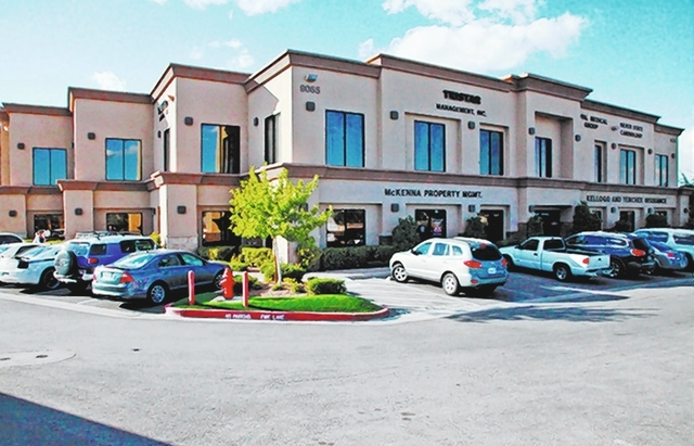 MIG Real Estate announced that it bought Sansone Pecos II, an eight-building, 122,922-square-foot, Class A medical-office complex at 9005-9089 S. Pecos Road. (Courtesy Idea Hall)