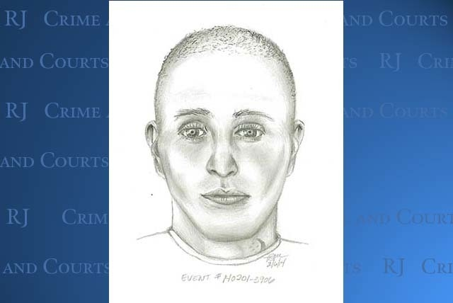 """An armed robbery suspect is described as a White or Hispanic male, 26-30 years old, 5-8""""-5'10"""", 150 lbs., medium build, clean-shaven with a shaved head. He had a crescent shape, green tattoo on th ..."""