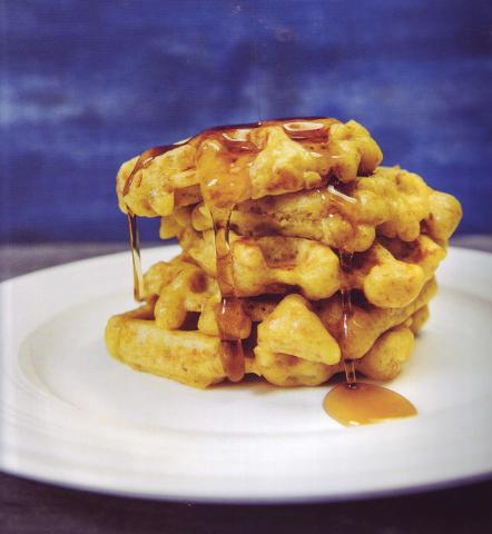 Chicken Stuffes Waffles