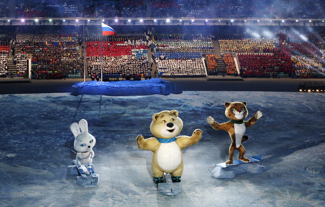 The hare, polar bear and leopard were chosen as the 2014 Sochi Olympic mascots in a nod to the three places on the Olympic podium. (International Olympic Committee)