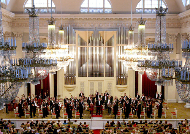 The St. Petersburg Philharmonic performs at The Smith Center Saturday night. (Courtesy)