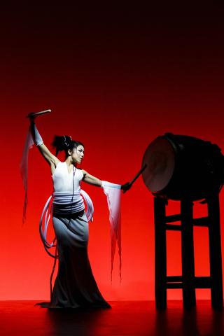 """Tao: Phoenix Rising"" brings Japanese taiko drumming to The Smith Center. (Courtesy)"