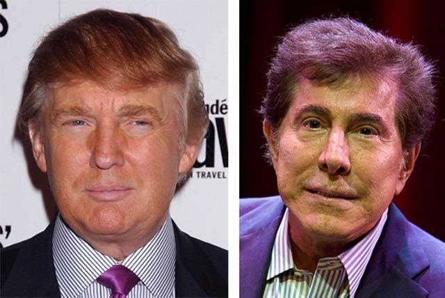 Donald Trump, left, and Steve Wynn. (Files, Las Vegas Review-Journal)