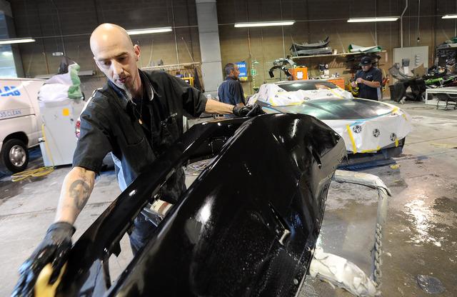 Top workplaces midsize 3 heinrich auto group las for Auto paint shop las vegas