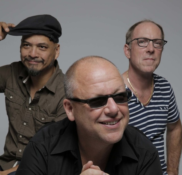 The Pixies: From left, Joey Santiago, Black Francis and David Lovering.