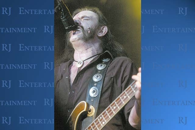 Lemmy Kilmister and Motorhead team up with Megadeth for a show at The Pearl at the Palms on April 17. (Courtesy)