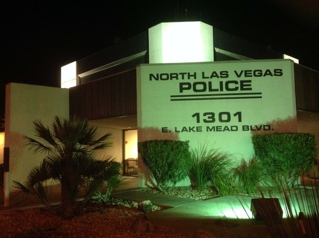 Headquarters for the North Las Vegas Police Department, 1301 E. Lake Mead Blvd., are located just west of North Vista Hospital. The property is being sold to the hospital as police prepare to move ...