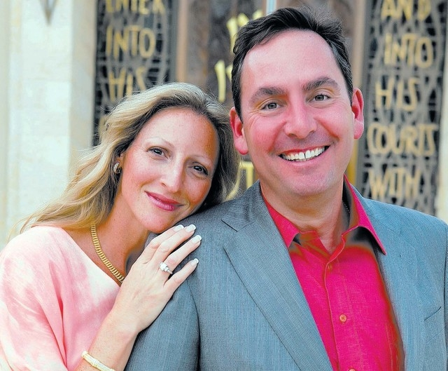 Lara and David Stone met in Arizona after being set up by David's former girlfriend. Lara lived in Arizona, and David lived in California, but they'd jet to one another's places every weekend unti ...