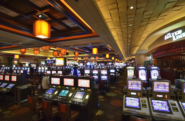 The interior of the Aliante hotel-casino is shown at 7300 N. Aliante Parkway in North Las Vegas on Wednesday, Feb. 5, 2014. (Bill Hughes/Las Vegas Review-Journal)