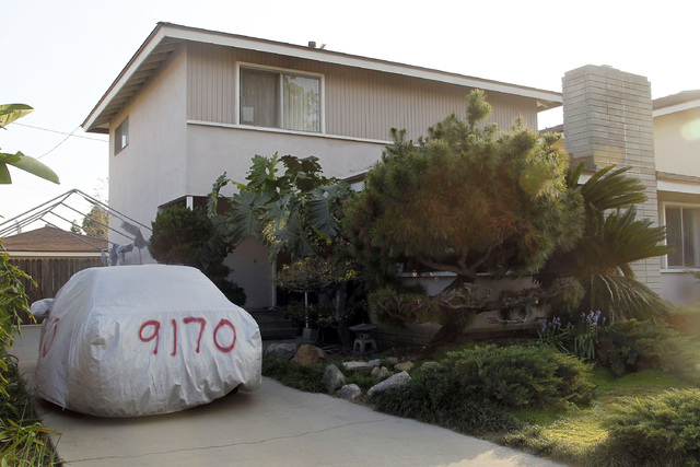 This image take Thursday March 6, 2014 shows the residence of Dorian S. Nakamoto in Temple City, Calif. Nakamoto, the man that Newsweek claims is the founder of Bitcoin denies he had anything to d ...