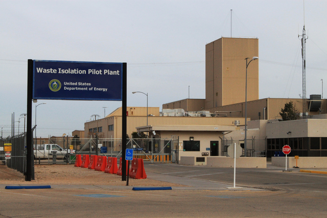 The Waste Isolation Pilot Plant, the nation's only underground nuclear waste repository, near Carlsbad, N.M., remains idle on Thursday. Operations at site were halted in February after a truck fir ...