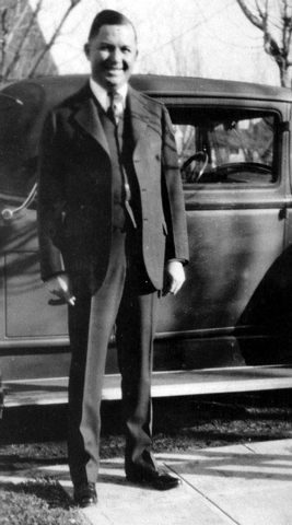 This undated photo shows Reno banker Roy Frisch, who disappeared in 1934. His whereabouts remain one of the city's greatest unsolved mysteries. (AP Photo/The Reno Gazette-Journal)  NO SALES; NEVAD ...
