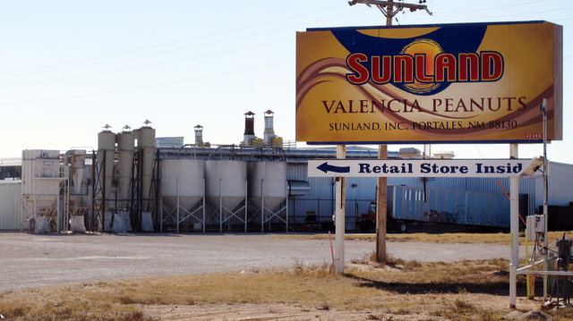 Nearly a million jars of peanut butter are being dumped at a New Mexico landfill to expedite the sale of Sunland Inc., the bankrupt peanut-processing plant that was at the heart of a 2012 salmonel ...