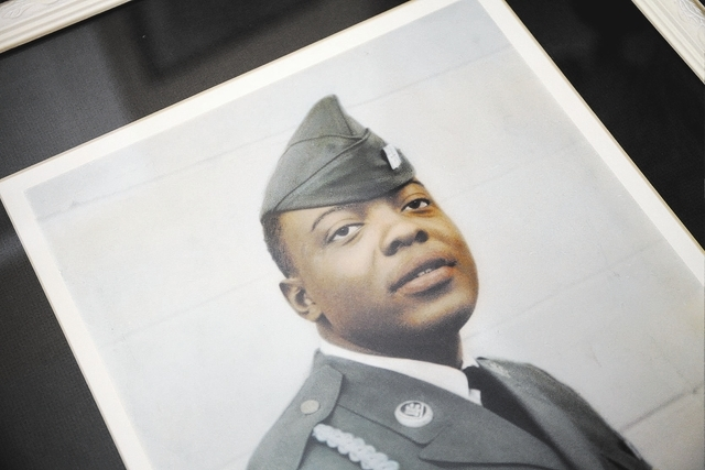 An old photo of Willie McTear. McTear served in Charlie Company of the Army 9th Division's 4th Battalion, 47th Infantry Regiment during the Vietnam War. (Handout/Las Vegas Review-Journal)