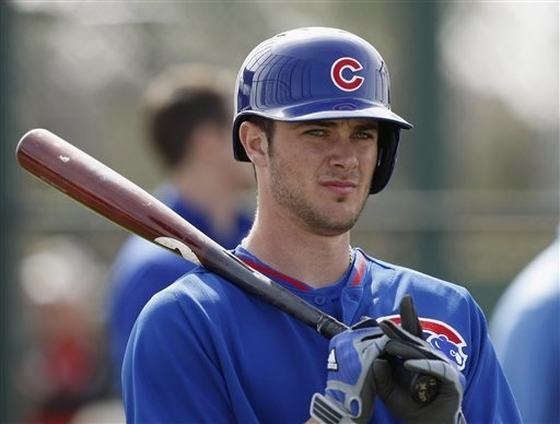 Former Bonanza High star Kris Bryant, a third baseman in the Chicago Cubs' system, appears to be on the fast track to the majors. (AP Photo/Rick Scuteri, File)