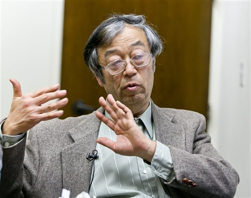 Dorian S. Nakamoto talks during an interview with the Associated Press, Thursday, March 6, 2014 in Los Angeles. Nakamoto, the man that Newsweek claims is the founder of Bitcoin, denies he had anyt ...