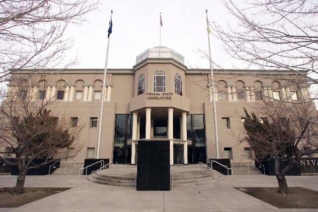 The Nevada State Legislature building (Las Vegas Review-Journal/File)