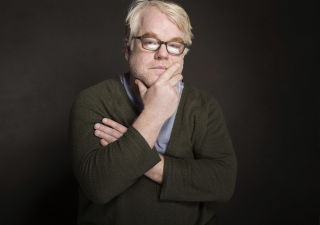 Philip Seymour Hoffman poses for a portrait at The Collective and Gibson Lounge Powered by CEG, during the Sundance Film Festival, in Park City, Utah. Hoffman, 46, who won the Oscar for best actor ...