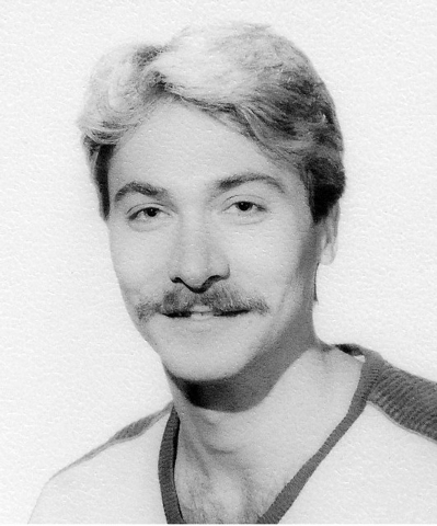 This is a photo of Dennis Dunn  in Hawaii in 1990. Dunn has battled the AIDS virus since contracting it in Hawaii in the early 1980s. (Photo provided by Dennis Dunn)
