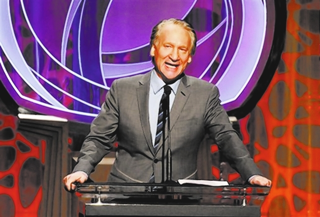 EXCLUSIVE - Bill Maher speaks on stage at the 2014 Television Academy Hall of Fame on Tuesday, March 11, 2014, at the Beverly Wilshire in Beverly Hills, Calif. (Photo by Frank Micelotta/Invision f ...