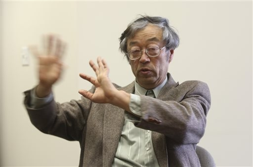Dorian S. Nakamoto gestures during an interview with the Associated Press, Thursday, March 6, 2014 in Los Angeles. Nakamoto, the man that Newsweek claims is the founder of Bitcoin, denies he had a ...
